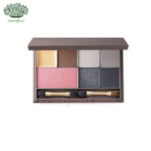 INNISFREE Hyeonjin's Red Make Up Set with My Palette Medium [My Palette- Winter Cool Dark]
